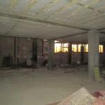 بتن ریزی ستون های طبقه اول